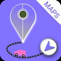 GPS Voice Navigation & Satellite Location Maps icon