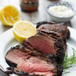 Mediterranean Grilled Lamb with Pale Ale Glaze.