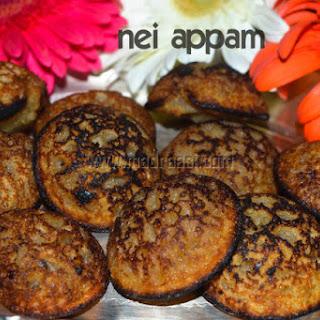 Neyyappam / Unniappam / Banana Appam / Banana Panniyaram.