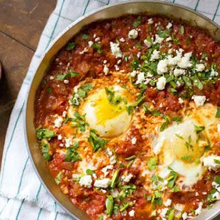Tomato Achaar Shakshuka.