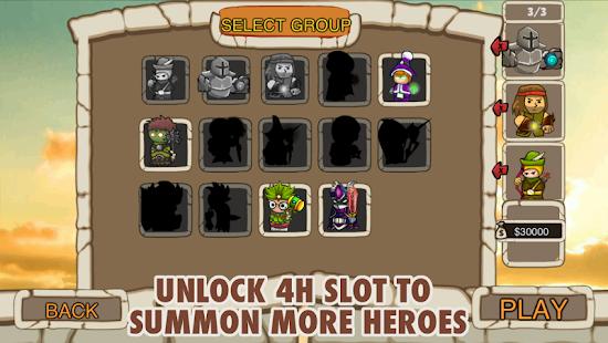 League Heroes - náhled