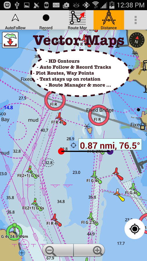 Marine Navigation / Charts USA- screenshot