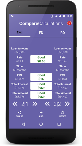 Loan Calculator-EMI, RD & FD Calculator screenshot 8