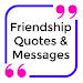 Friendship Quotes & Messages - Pictures For Status Icon