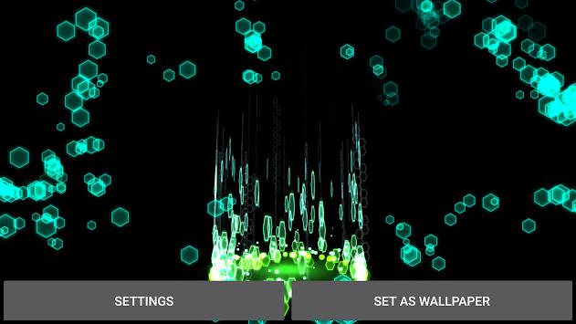 SciFi Particles Live Wallpaper Poster