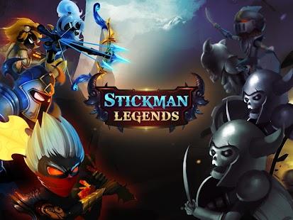 Stickman Legends: Shadow Wars Screenshot