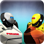 Police Robot Car Battle Icon