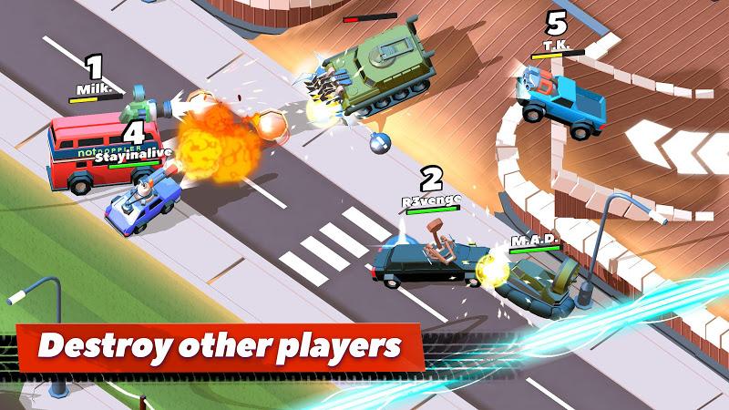 Crash of Cars v1.1.28 [Mod Money]