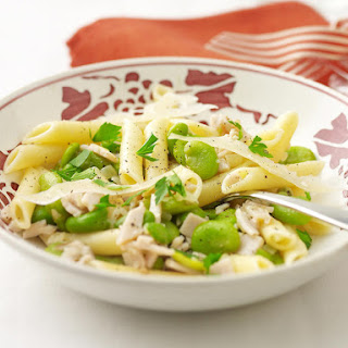 Turkey and Fava Bean Penne
