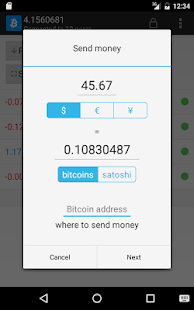 Simple Bitcoin Wallet- screenshot thumbnail