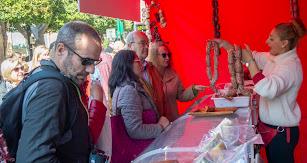 Embutidos Alpujarreños mostró parte de sus productos en el Día del Tomate.