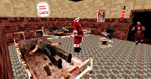 Scary Santa Granny Chapter 2 - Escape Horror House  captures d'écran 1