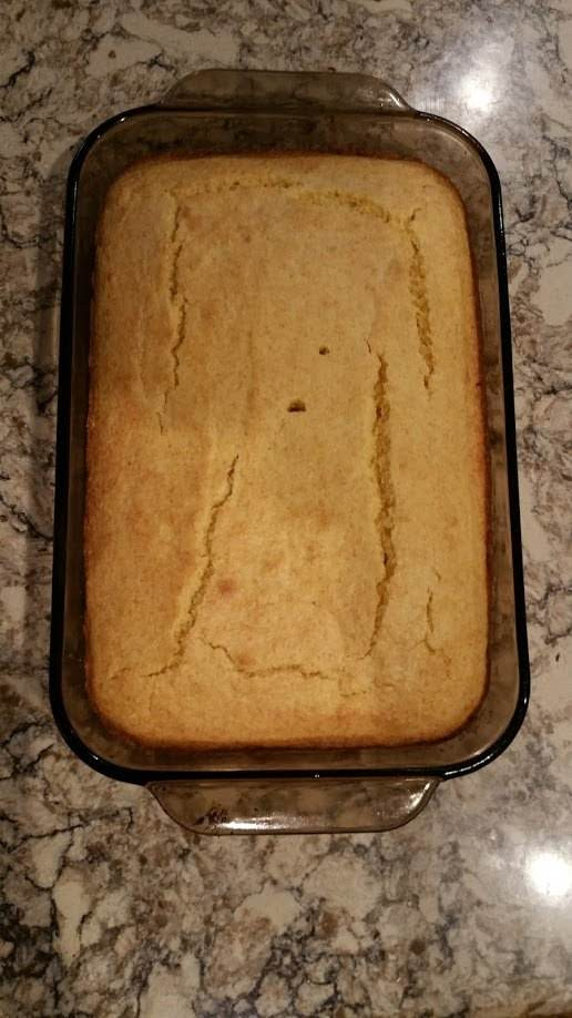 Cornbread Fresh From The Oven.
