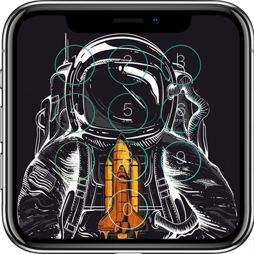 Astronaut Lock Screen