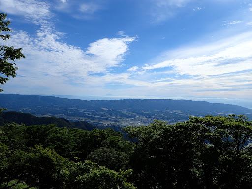 大岩上部からの眺め