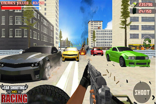 Car Racing Sniper Vs Thieves - Shooting Race games  code Triche 1