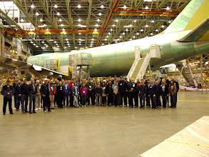 Photo: Our Group on the Factory Floor
