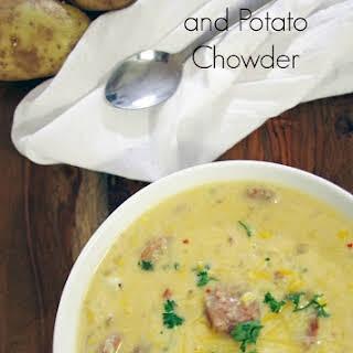 Sausage, Corn, and Potato Chowder.