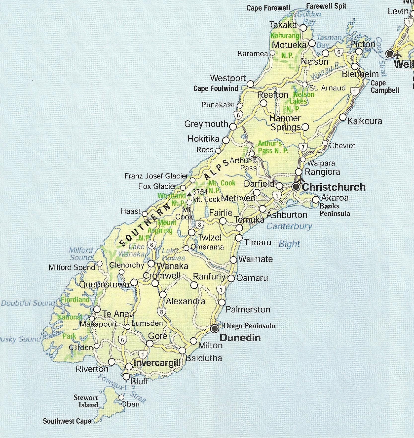 Photo: auf der Südinsel, in Christchurch startet alles