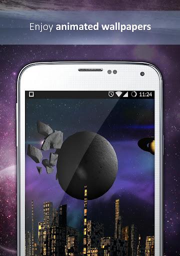 Galaxy Legends Live Wallpaper