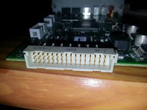 Photo: Main board connector