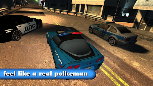 Police car Racing Master PRO