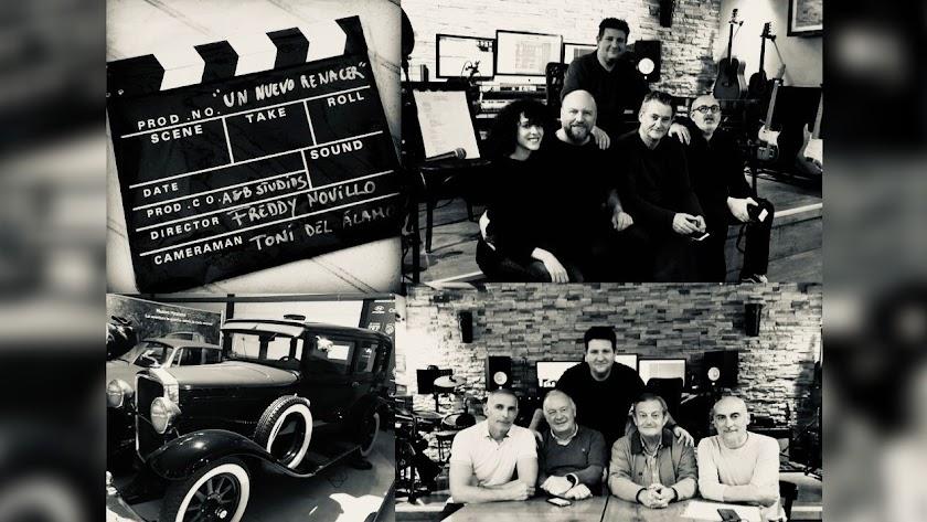 Parte del equipo e imágenes promocionales del proyecto.