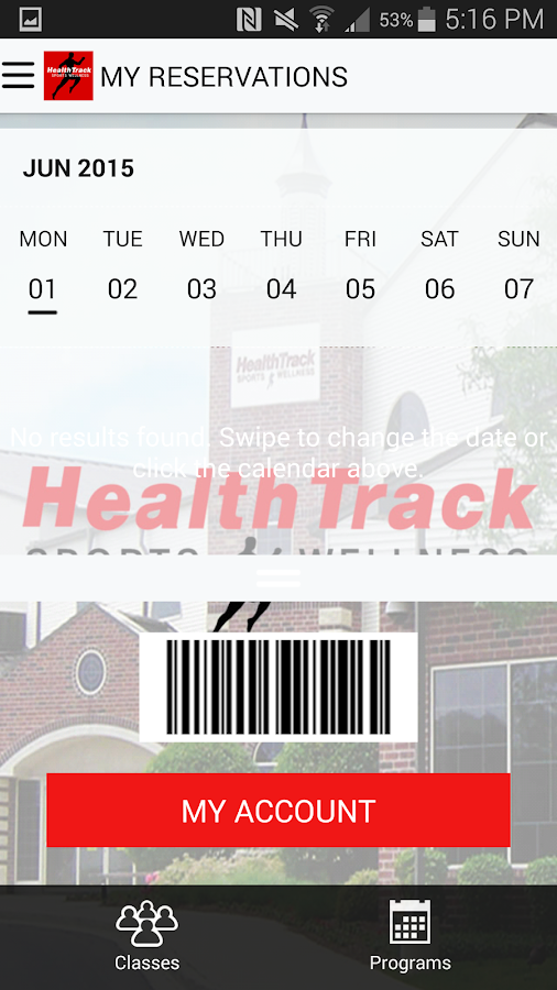 HealthTrack- screenshot