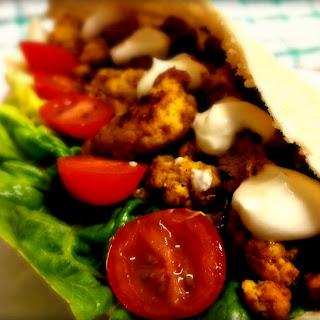 Caribbean Spiced Turkey Mince Pittas
