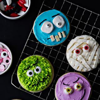 Halloween Monster Cookies.