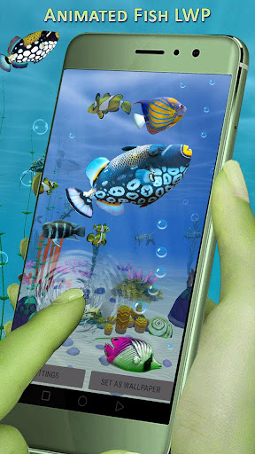 ... 3D Aquarium Wallpaper: Fish Live Wallpaper Free screenshot 4 ...