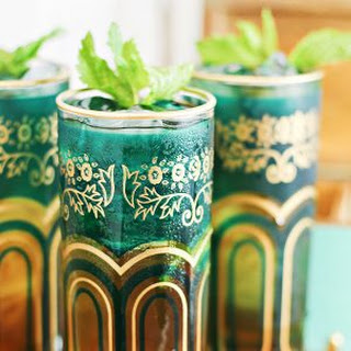 Moroccan Spiced Mint Tea Juleps Cocktail