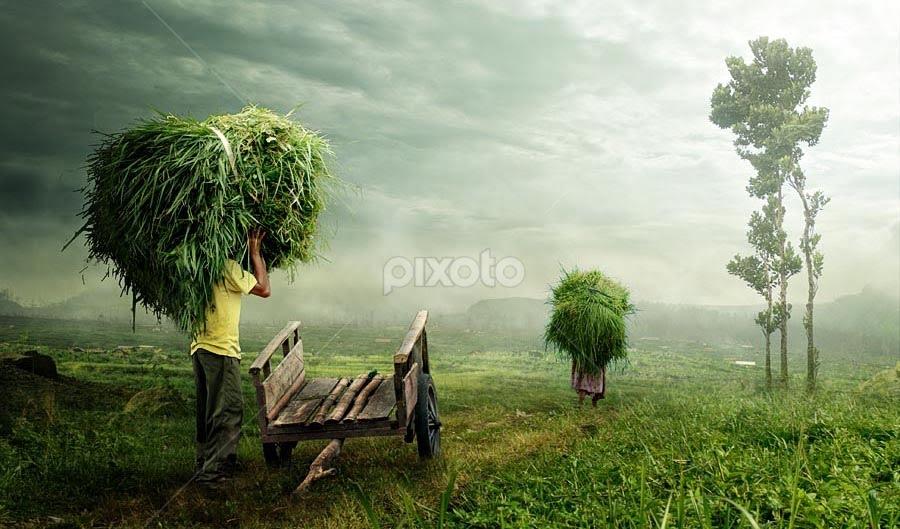 hard worker #2 by Budi Cc-line - Digital Art People ( mood, landscape, people )