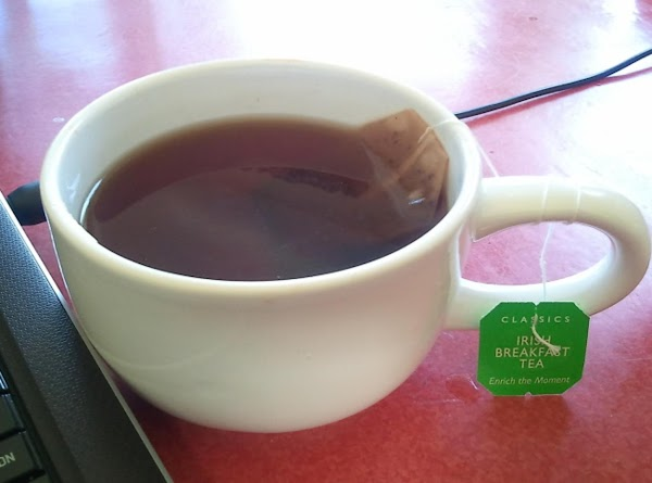 Allow tea to steep for 5 to 10 minutes. You want a really strong...