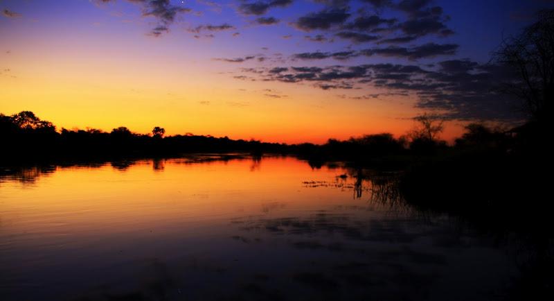Photo: Golden hour at Boteti river
