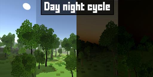 Pixel Block Survival Craft screenshot 12