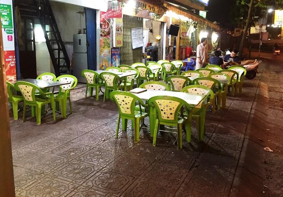Nhiều quán nhậu tại TPHCM có lượng khách giảm mạnh dù là ngày cuối tuần trong dịp cận Tết. Ảnh: Đại Việt