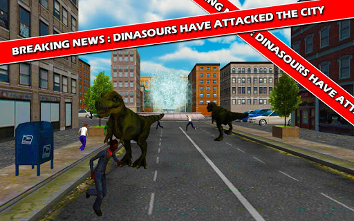 War Against Dinosaurs Attack