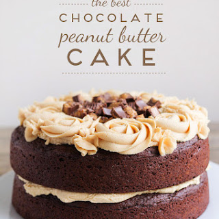The Best Chocolate Peanut Butter Cake Recipe
