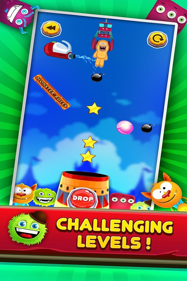 Monster Toy Claw Puzzle Game- screenshot