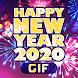 Happy New Year 2020 Cards GIF - Androidアプリ