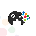 Colorful dots: fun puzzle game icon
