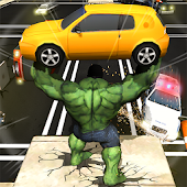 Superhero City Battle Monster Fighting