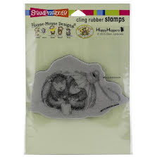 Stampendous House Mouse Cling Stamp - Ornament Warmth