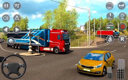 Indian Truck Offroad Cargo Drive Simulator apktram screenshots 13