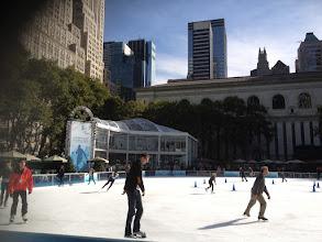 Photo: Ice Skating in Bryant Park
