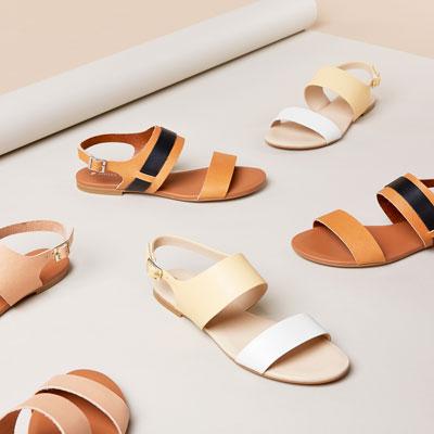 New Roman sandals