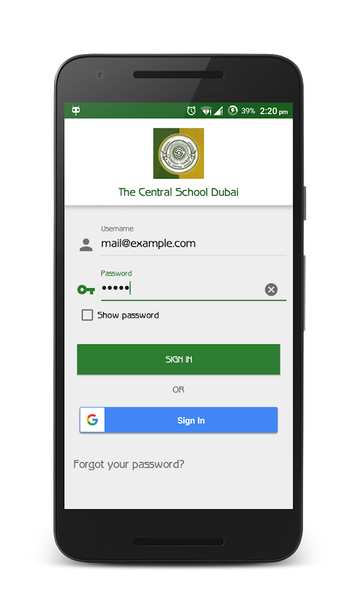 The Central School Dubai- screenshot