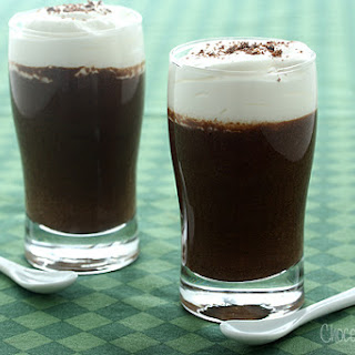 Chocolate Guinness Mousse Cups For Two.