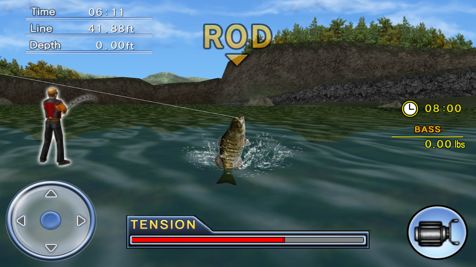 Bass fishing 3d free android apps on google play for Best fishing apps for android